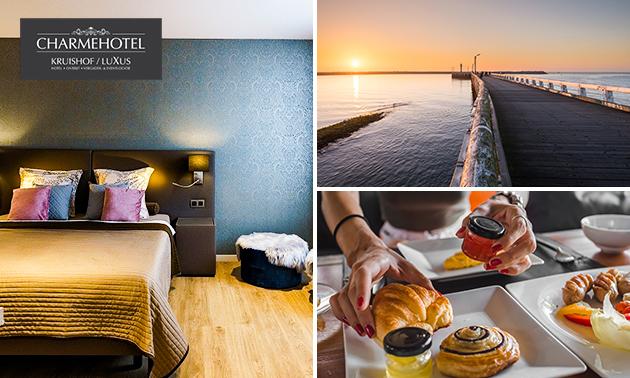 Overnachting(en) voor 2 + ontbijt nabij Oostende