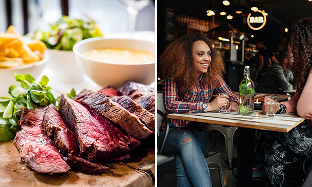 3-gangen keuzediner bij Chico´s Grill & Burgerhouse