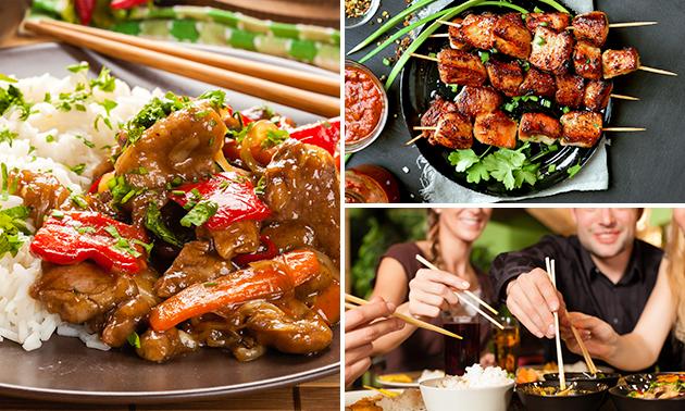 Afhalen: Chinees-Indische rijsttafel bij China Garden
