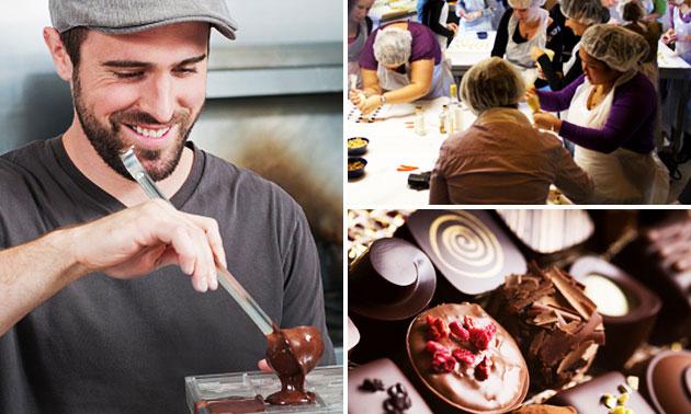 Workshop bonbons maken (3 uur) bij Chocobreak