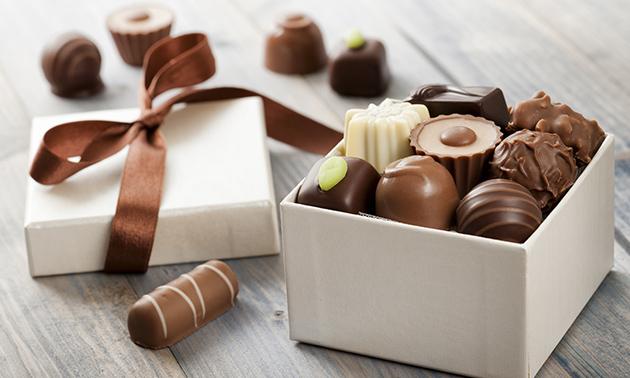 Waardebon voor chocolade