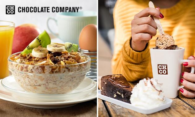 Ontbijt of gebak + warme drank in hartje Hilversum