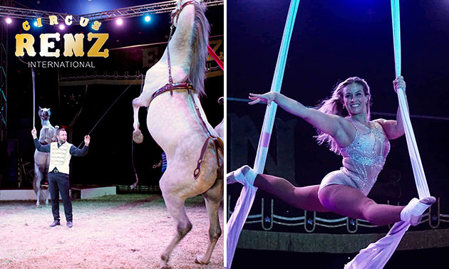 Voorstelling Circus Renz International