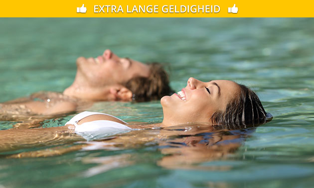 Relaxarrangement (ca. 100 min) bij City Spa Goes