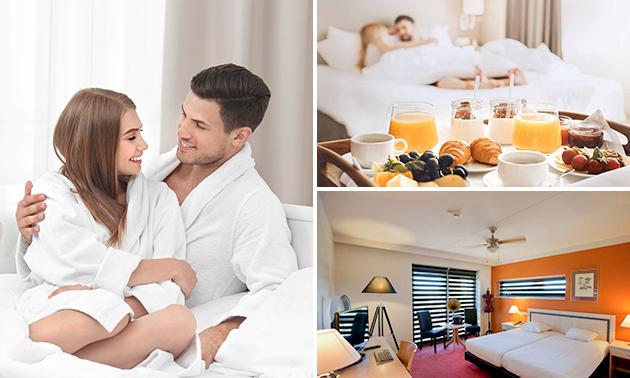 Hotelovernachting + ontbijt voor 2