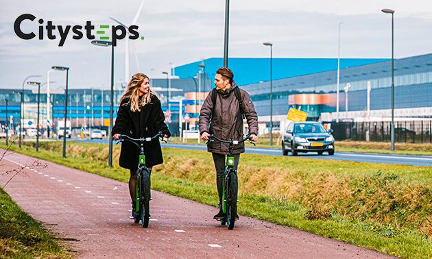 Huur e-step (60 of 120 rijminuten) in Waalwijk