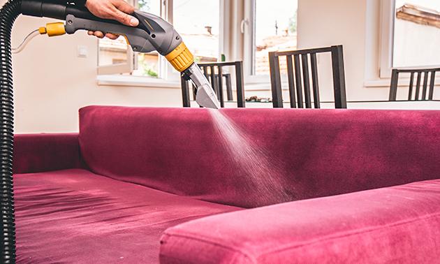 Professionele reiniging gestoffeerde (auto)interieur of meubels