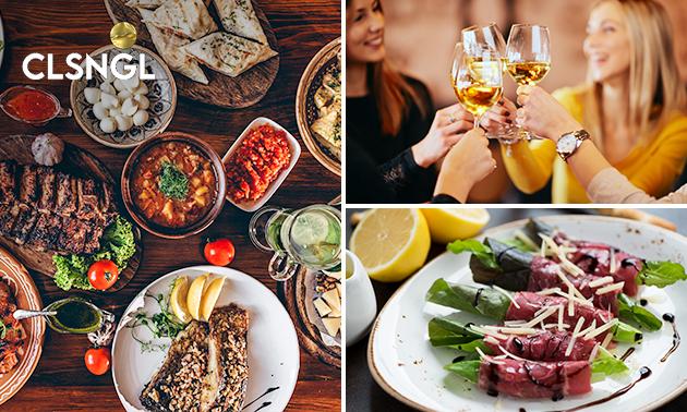Thuisbezorgd of afhalen: shared dining (10 gerechtjes!)