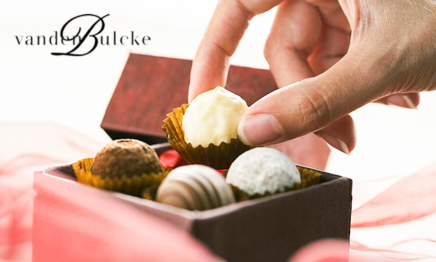 Afhalen: chocoladepakket van 500 of 1000 gram