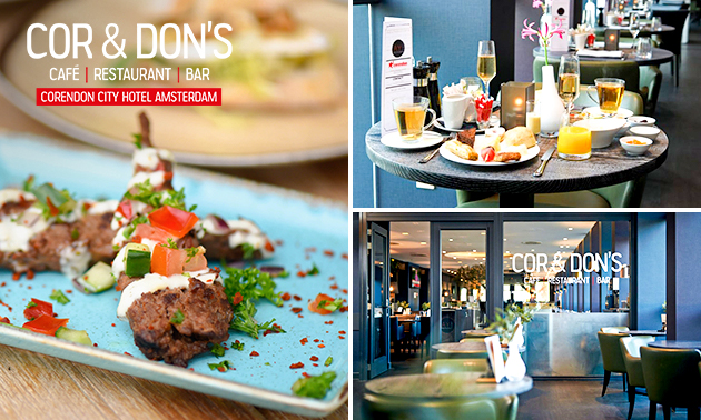 All-You-Can-Eat bij Corendon City Hotel Amsterdam
