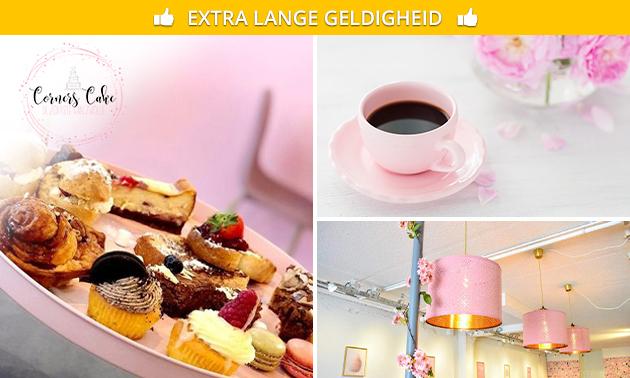 Afhalen: warme drank + gebak in hartje Zwolle
