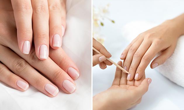Spa-manicurebehandeling + gellak (60 min)