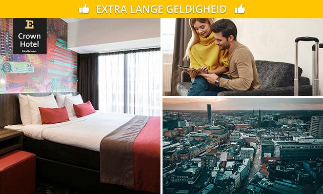 VIP-overnachting + ontbijt voor 2 in hartje Eindhoven