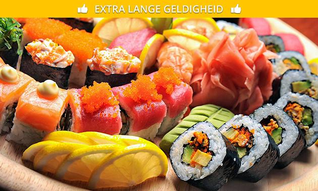 Afhalen: sushibox (12 of 32 stuks) van Daisuki Sushi
