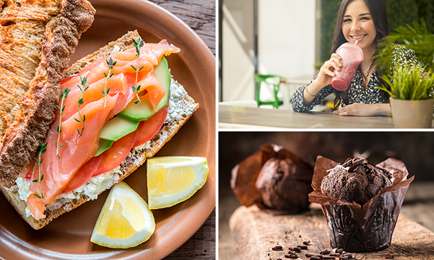 Afhalen: belegde broodjes + smoothie van Da´s Andere Koek