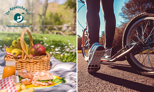 Huur kickbike + escapegame + lunchpakket