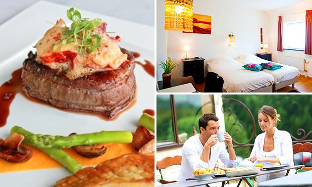 Séjour (s) hôtel + petit-déjeuner dans la nature limbourgeoise