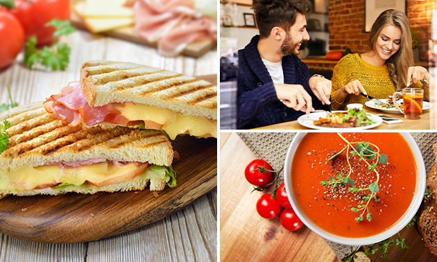 Luxe lunch bij De Croissanterie