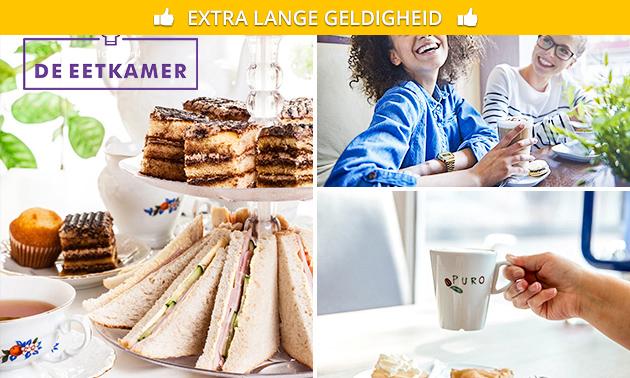 High tea (2,5 uur) bij De Eetkamer Hoensbroek