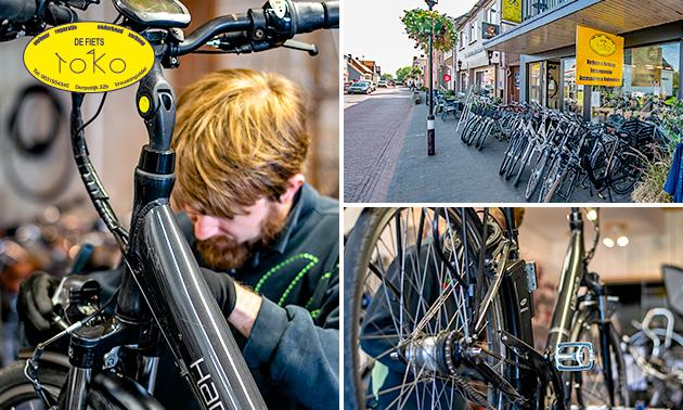 Kleine of grote onderhoudsbeurt voor je fiets