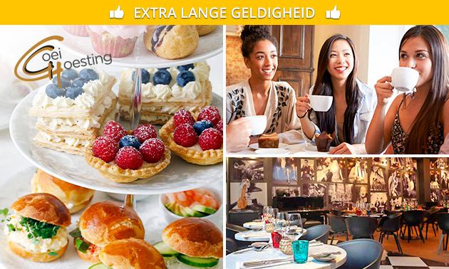 High tea evt. + prosecco bij De Goei Goesting