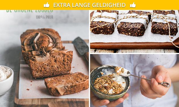 Thuisbezorgd: healthy lekkernijen-pakket + granola