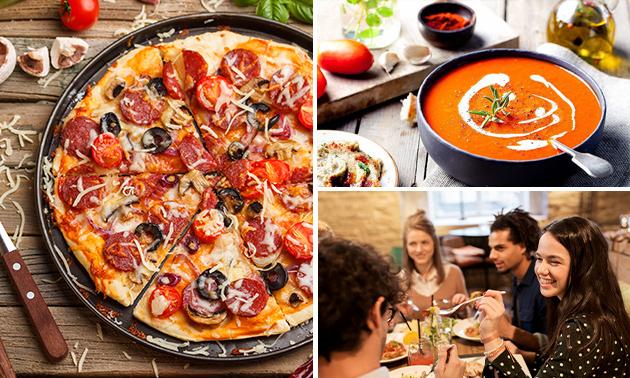 Italiaans 3-gangendiner bij Pizzeria Trattoria Il Porto