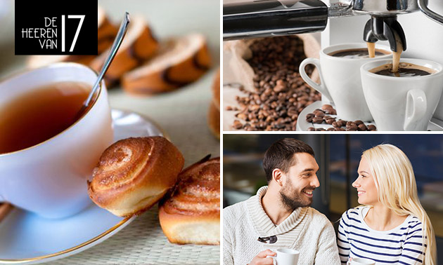 Koffie/thee + lekkernijen bij De Heeren van 17