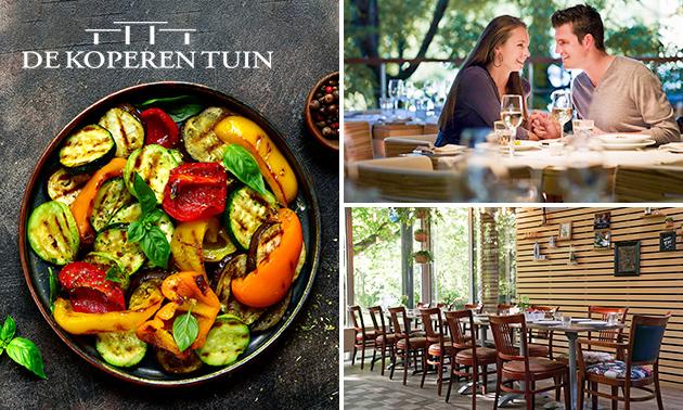 2-gangen shared dining bij De Koperen Tuin