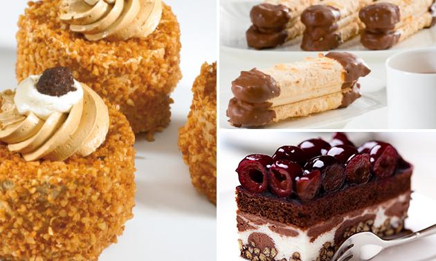 Afhalen: 6 of 10 gebakjes naar keuze