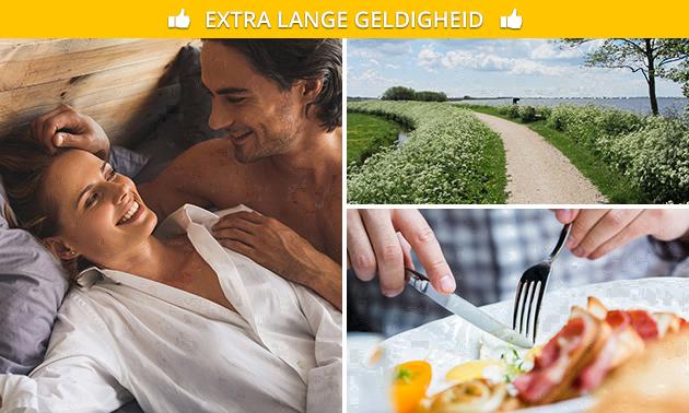 Overnachting(en) + ontbijt voor 2 in Friesland