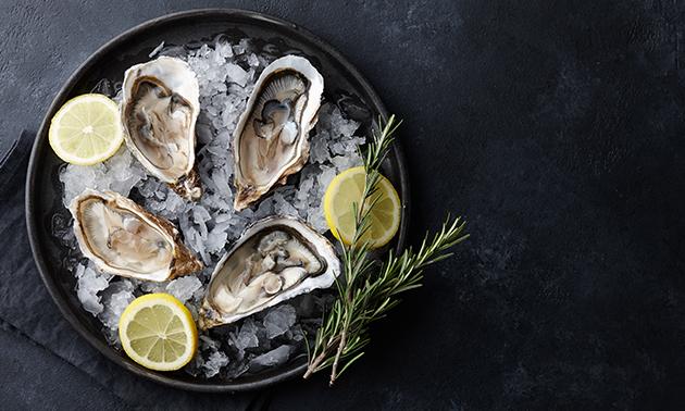 Afhalen: Tabl'eau oesters (6 stuks)