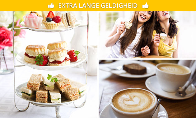 5-gangen high tea + drankje bij De Pulle