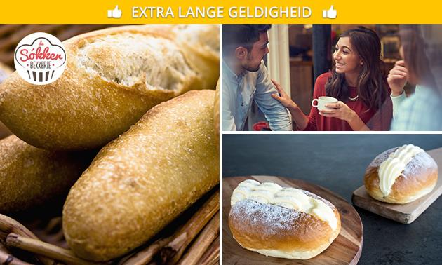 Afhalen: broodpakket bij De Sókkerbekkerie