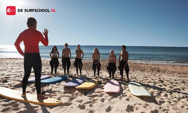 Surfen + sandboarden (totaal 4 uur)
