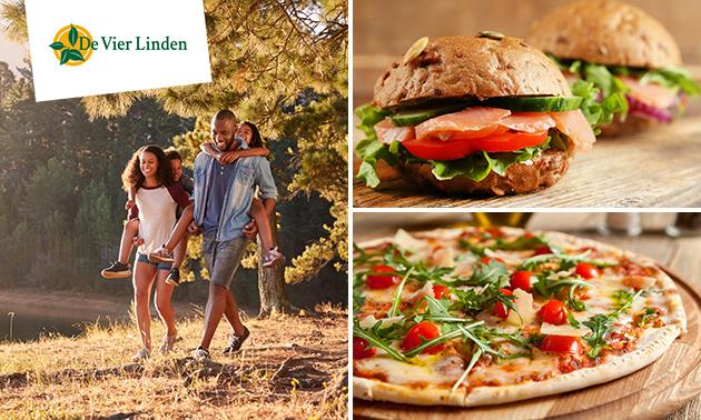 Wandelarrangement + lunch en/of pizza bij De Vier Linden