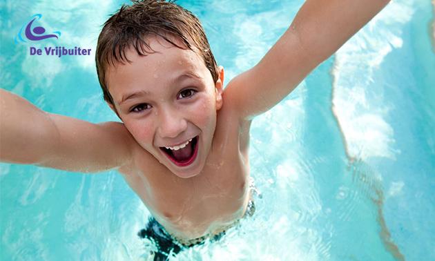 Entree zwembad De Vrijbuiter