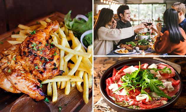 Afhalen: shared dining-diner van De Wijnhoeve
