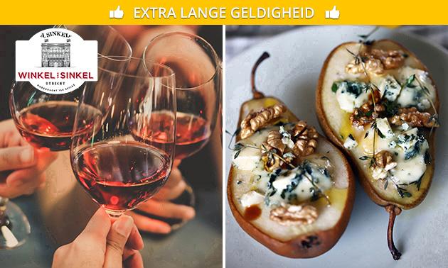 4-gangen high wine bij De Winkel van Sinkel