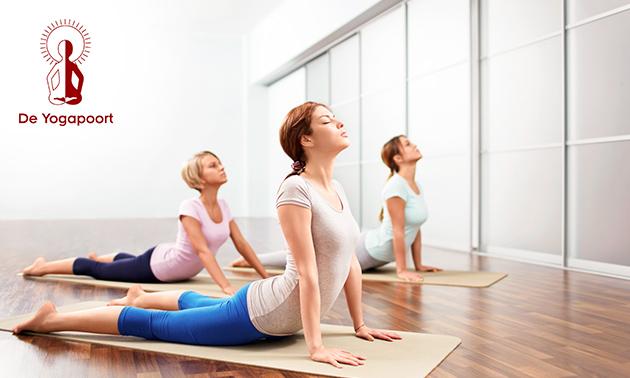 5-rittenkaart of 1 maand onbeperkt yogalessen