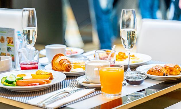 Luxe ontbijt + koffie en cava in hartje Antwerpen