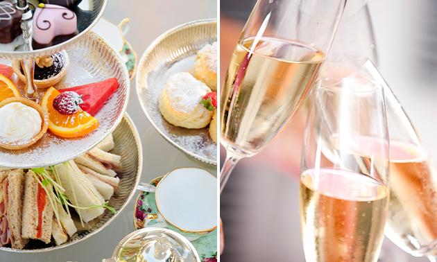 Afhalen: luxe high tea + bubbels voor thuis