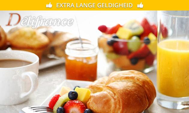 Afhalen: ontbijt voor 2 personen