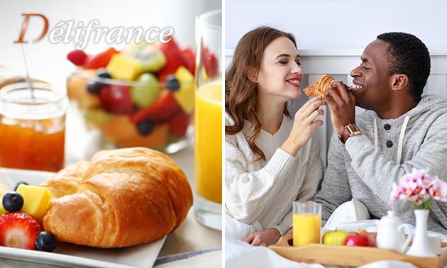 Afhalen: valentijnsontbijt/-brunch van Délifrance