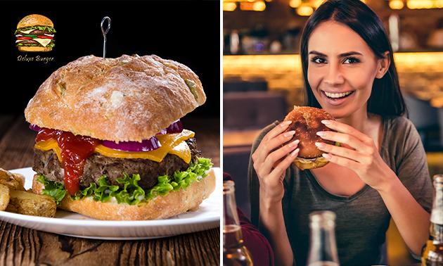 Afhalen: 2-gangen burgerdiner bij Deluxe Burger