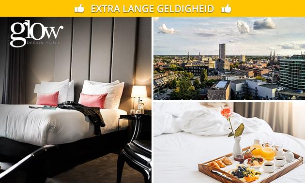 Overnachting voor 2 + ontbijt + welkomstdrankje in hartje Eindhoven