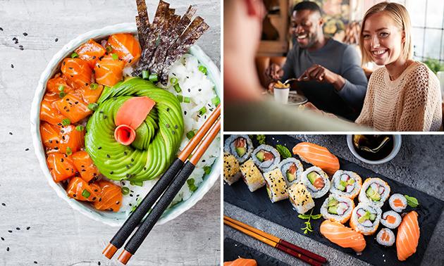 Afhalen: pokébowl of sushibox naar keuze bij Dinertijd