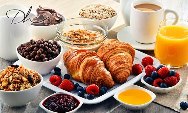 Luxe ontbijtbuffet bij Distelhoek