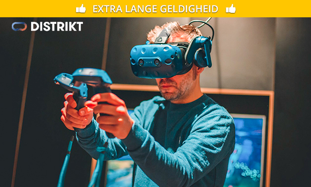 Virtual reality experience naar keuze (60 min)
