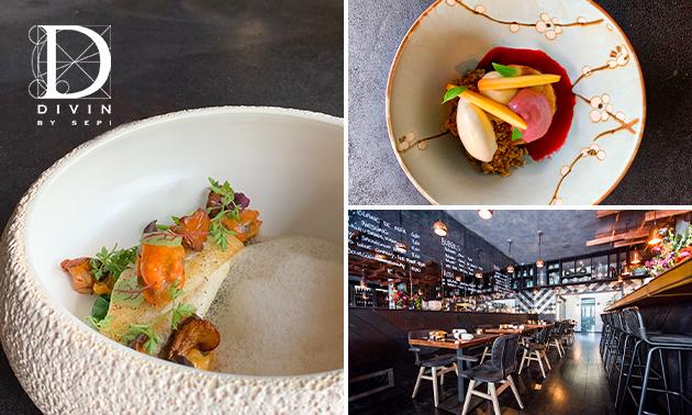 Afhalen: 4-gangen Gault Millau-diner van Divin by Sepi